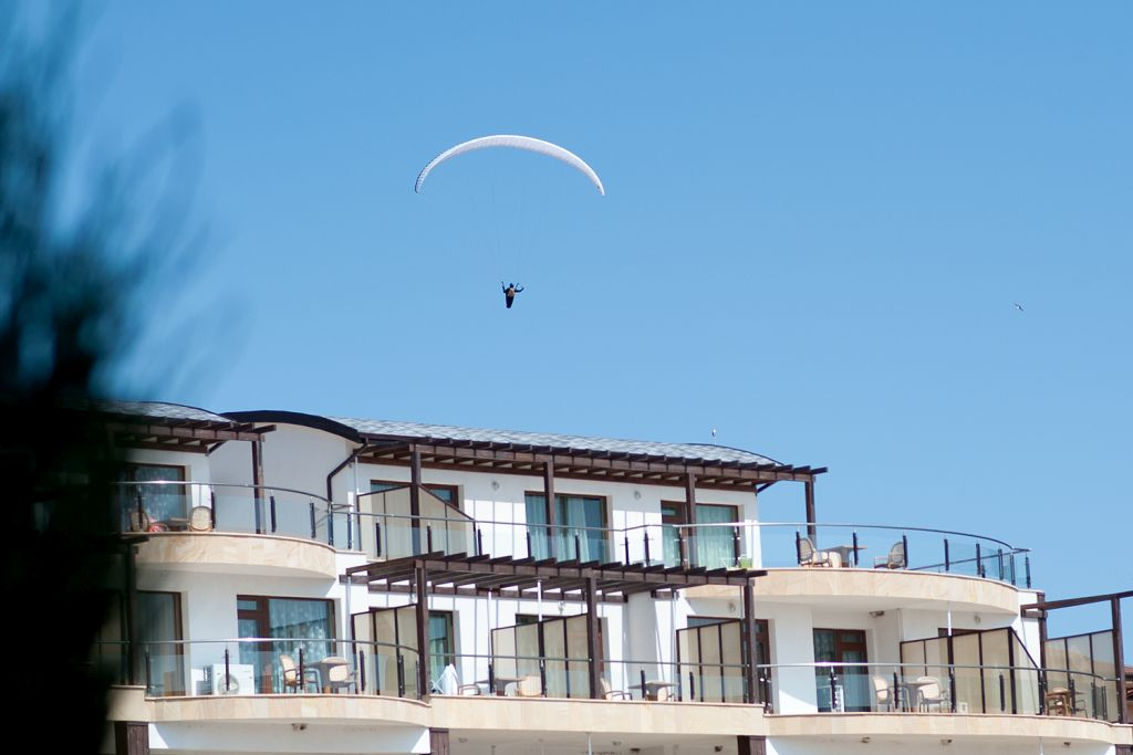 paraglider topola skies