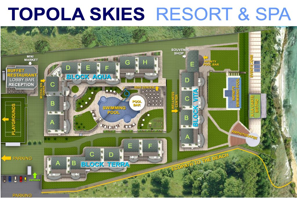 the resort plan