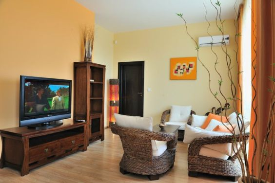 two bedroom apartment - living room 1