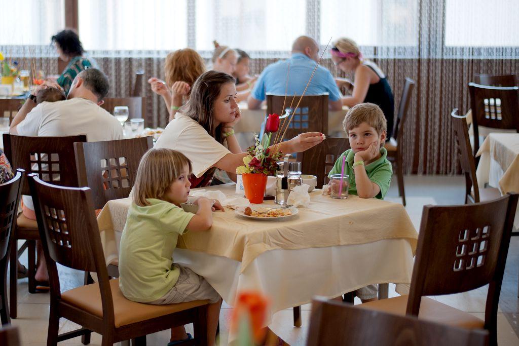 main restaurant table