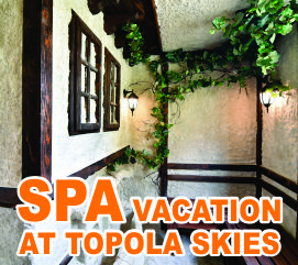 "Spa Vacation in ""Topola skies"""